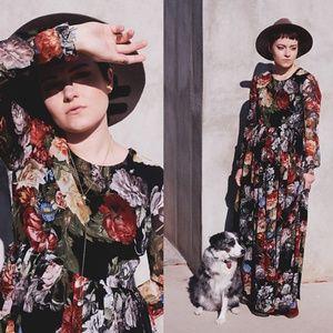 Shabby Apple Plus Size Maxi Dress